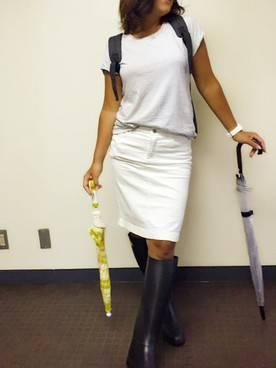 けこ|ユニクロのスカートを使ったコーディネート - WEAR (26384)