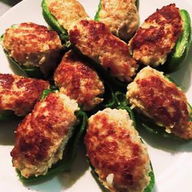 美味しいピーマンの肉詰め by おーさんちの台所 [クックパッド] 簡単おいしいみんなのレシピが265万品 (26667)