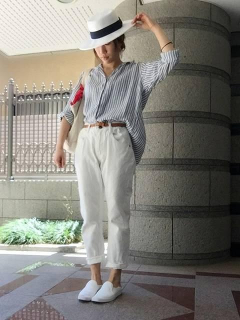 hina.|ユニクロのカジュアルシャツ(長袖・半袖)を使ったコーディネート - WEAR (26750)