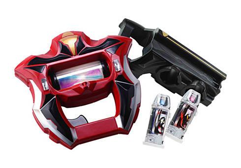 変身アイテム「ジードライザー」と「ジードカプセル」