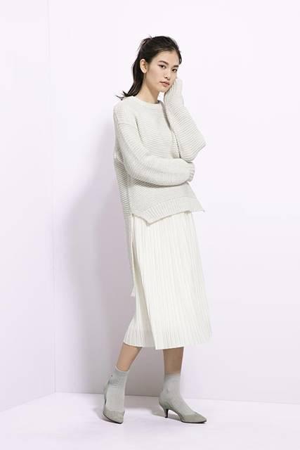 ジーユー|カットソープリーツスカートRG|WOMEN(レディース)|公式オンラインストア(通販サイト) (28000)