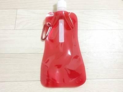 【セリア】水筒 冷凍もできる!折り畳むこともできる!