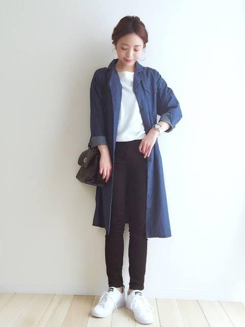 haru |THE EMPORIUMのシャツワンピースを使ったコーディネート - WEAR (28471)