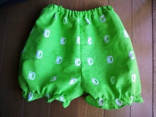 手縫で手ぬぐいズボン♪80-100センチ