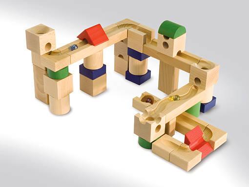 【ご予約】キュボロ(クボロ) クゴリーノ|キュボロ社(cuboro/スイス) | 木のおもちゃ カルテット (29057)