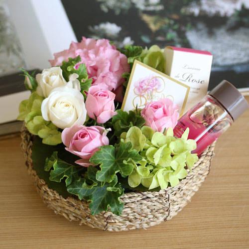 一覧|ローズバスエッセンスセット(1/1) | 花・花束の通販|青山フラワーマーケット (29278)