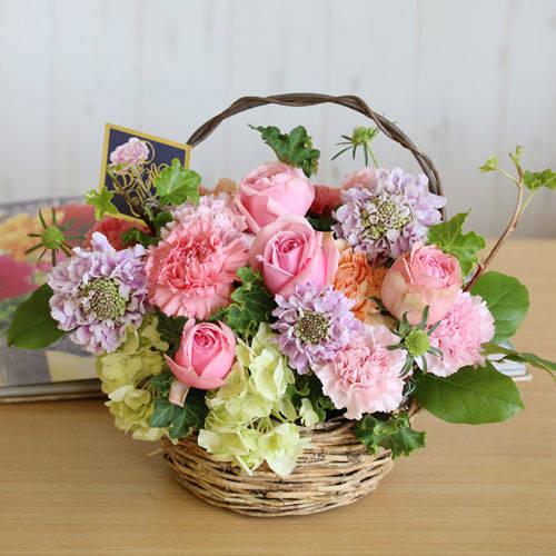 一覧|ふわりアレンジ・ファンシードレス(1/1) | 花・花束の通販|青山フラワーマーケット (29286)