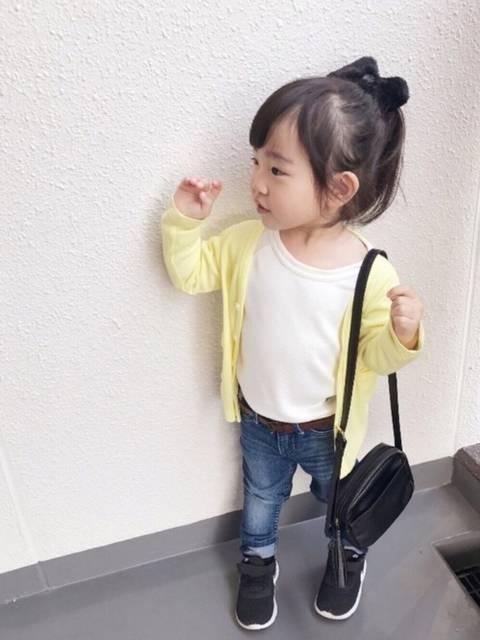 yuu☆|西松屋のTシャツ・カットソーを使ったコーディネート - WEAR (30214)