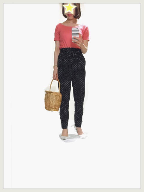 褒められ率の高いZARAドットパンツとUNIQLO購入品。|reireireipyonオフィシャルブログ「福岡発 fashion blog」Powered by Ameba (30562)