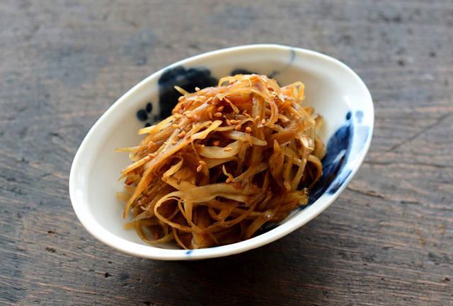 きんぴらごぼうのレシピ/作り方:白ごはん.com (31257)