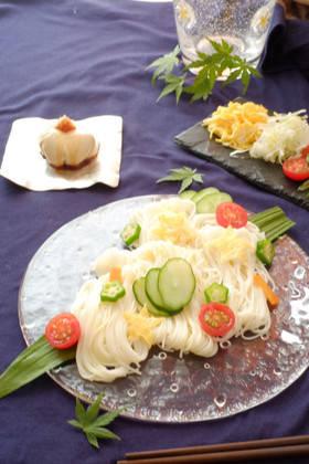 七夕そうめん by wchiko21 [クックパッド] 簡単おいしいみんなのレシピが267万品 (32700)