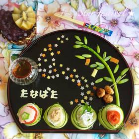 幼児食★七夕プレート♡2016 by みほの☆ [クックパッド] 簡単おいしいみんなのレシピが267万品 (32704)