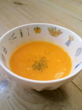 ♪ハンディブレンダーdeにんじんスープ♪