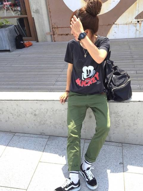 RIE|H&MのTシャツ・カットソーを使ったコーディネート - WEAR (40404)