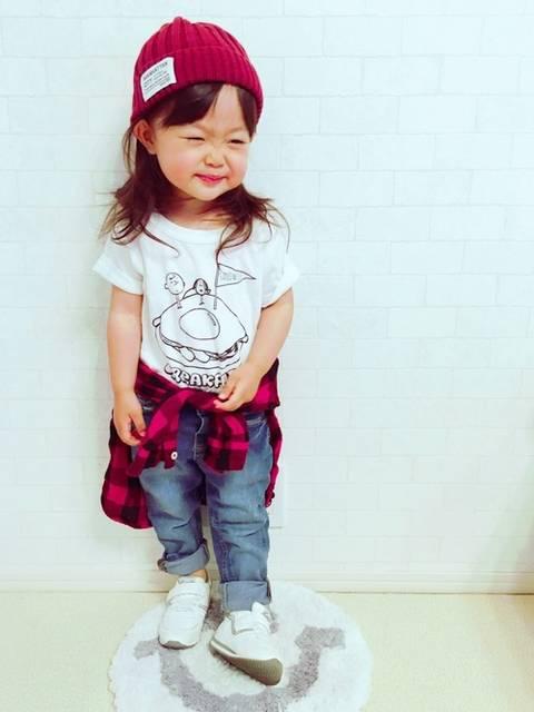 ユ メ ガ ハ ク *|Right-onのTシャツ・カットソーを使ったコーディネート - WEAR (40409)