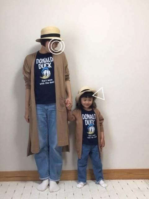 Sakura&mammy|UNIQLOのTシャツ・カットソーを使ったコーディネート - WEAR (41744)