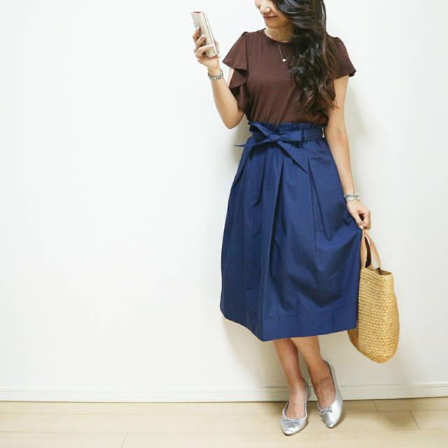 ようやく購入したUNIQLOベルテットスカート|Lazos de Chiaki♥︎ (41839)