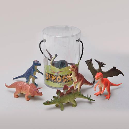 筒入り恐竜セット