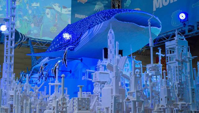 巨大「海底都市づくり」