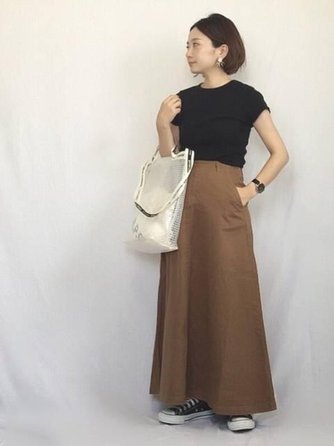 chanpeko|SLOBE IENAのスカートを使ったコーディネート - WEAR (52371)