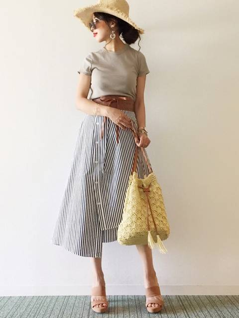 ぽこ|Glamorous Gardenのスカートを使ったコーディネート - WEAR (52375)