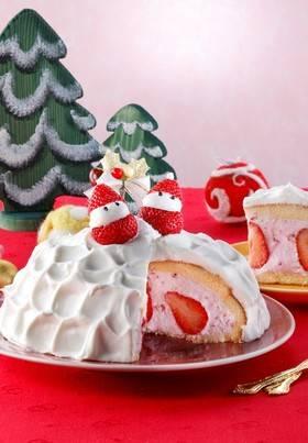 簡単☆フルーチェドームケーキ by ハウス食品株式会社 [クックパッド] 簡単おいしいみんなのレシピが272万品 (52442)