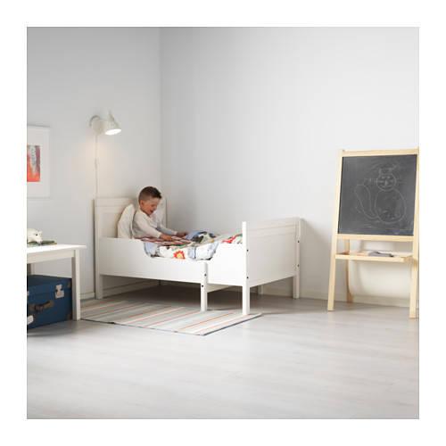 SUNDVIK 伸長式ベッドフレームとすのこ(組み合わせ)   - IKEA (54549)
