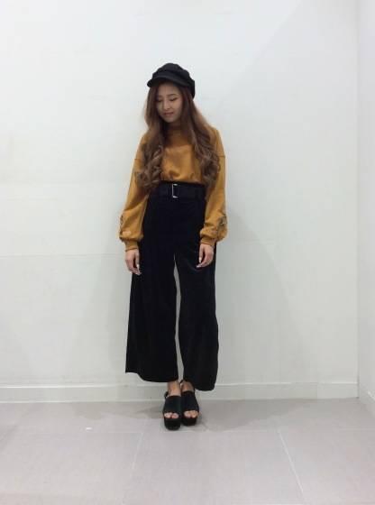 [ベロアアイテム]トレンド先取り!ジーユーの秋コーデ♡|GU SHOP BLOG (56351)