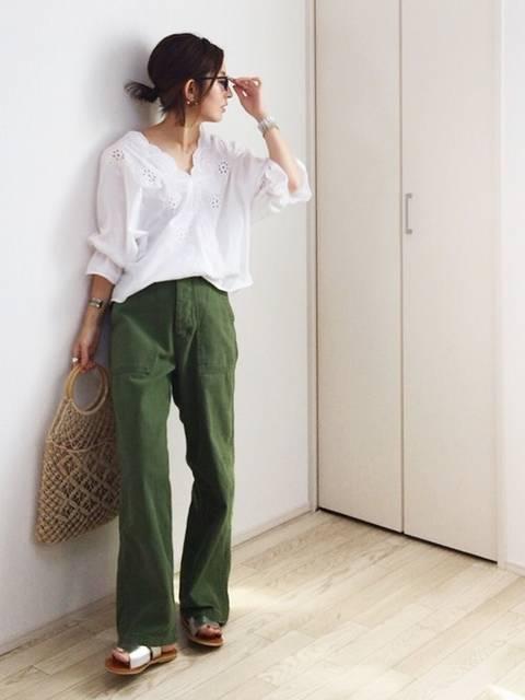 mayumi|GUのシャツ・ブラウスを使ったコーディネート - WEAR (59076)