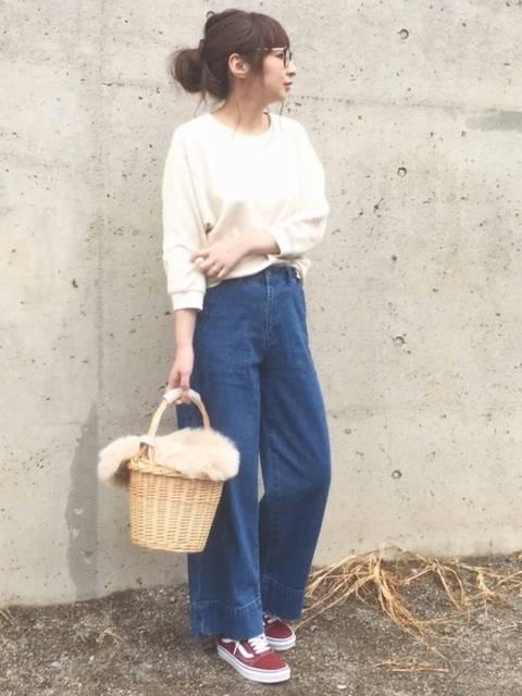 maiko |UNIQLOのTシャツ・カットソーを使ったコーディネート - WEAR (59556)