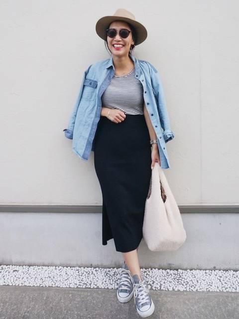 内村茉寿美|UNIQLOのスカートを使ったコーディネート - WEAR (61568)