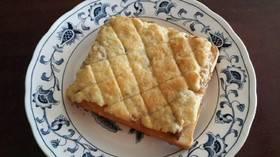 ほんのり甘酸っぱいメロンパン風トースト