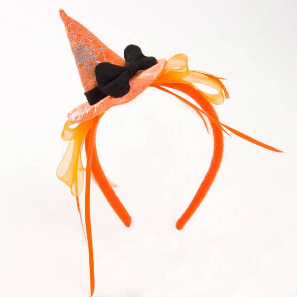 カチューシャ ハット2(オレンジ)