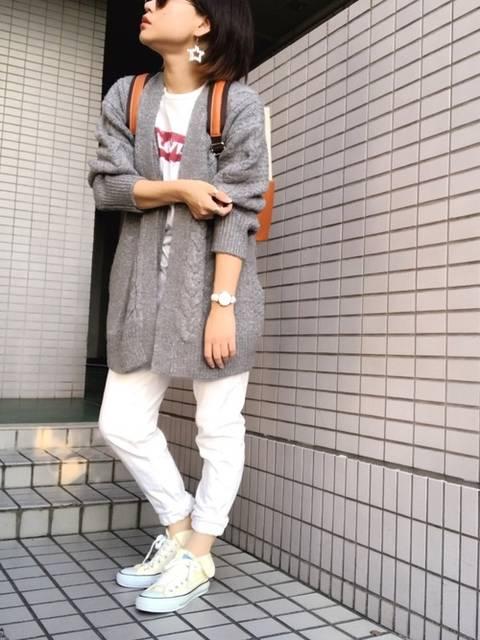 youki|GUのカーディガンを使ったコーディネート - WEAR (67081)