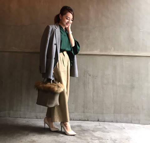 GUのグレンチェックジャケット。 marico☆BLOG〜30代ママのコーデ記録〜 (68393)