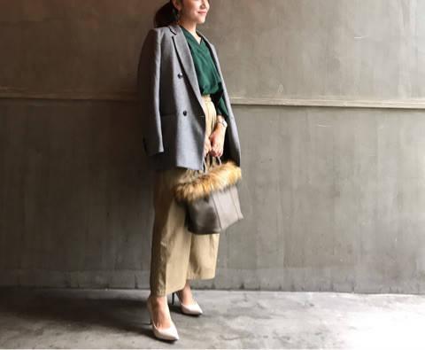 GUのグレンチェックジャケット。 marico☆BLOG〜30代ママのコーデ記録〜 (68394)