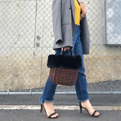 この秋大注目の「グレンチェック」を使ったコーデ ryoko blog 〜149cm低身長mamaのコーデ記録〜 (68405)