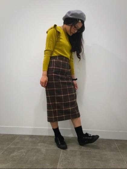 ショルダーフリルセーター♡|GU SHOP BLOG (68794)