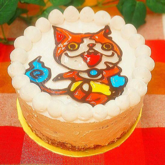 キャラクターXmasケーキ(大豆ゼラチン含) - 卵乳小麦を使わない おいしいお菓子の専門店 しあわせ工房 (73506)