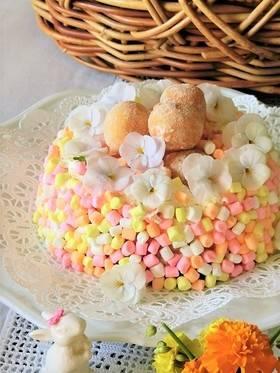 簡単おもてなし*マシュマロケーキ by BiBiすみれ 【クックパッド】 簡単おいしいみんなのレシピが279万品 (75707)