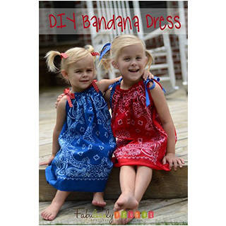 Quick, Easy, and Adorable DIY Bandana Dress - Fabulessly Frugal (75898)