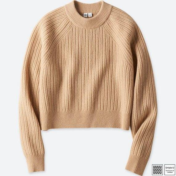 ユニクロ|チャンキーリブモックネックセーター(長袖)+E|WOMEN(レディース)|公式オンラインストア(通販サイト) (76241)