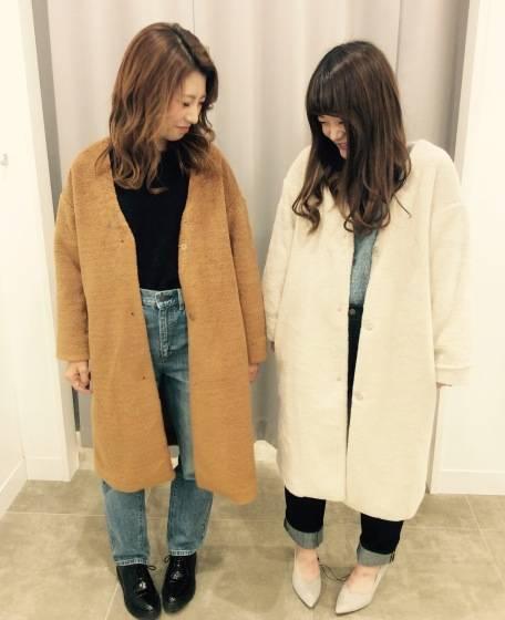 ♡冬コート&春コート♡|GU SHOP BLOG (76277)