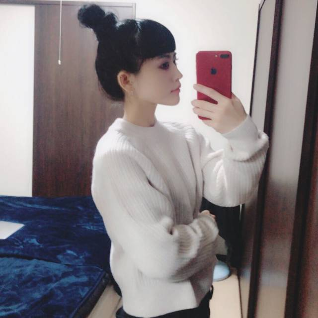 "suzu on Twitter: ""Uniqlo Uチャンキーリブモックネックセーター🐏色違い買う〜🐏 https://t.co/luBbZ6s0m0"" (76373)"