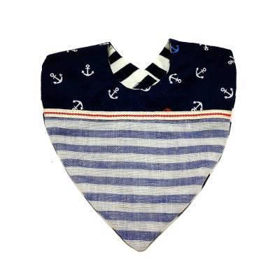 ベビースタイの作り方(リバーシブル) - ぎんがむちっく 手作り子ども服や可愛い小物たち (77254)