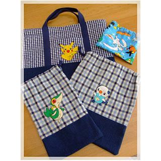 happy-go-lucky - 入学グッズ(袋物)を作りました☆ (78039)