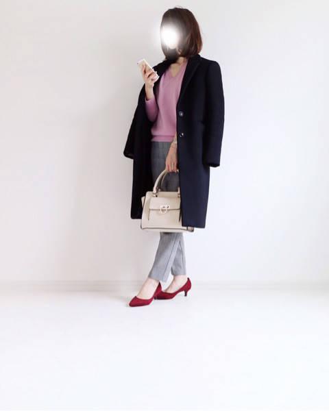 Code♡UNIQLO×GUピンクのカシミヤコーデ/ニット300円OFF|yonnieのブログ**おしゃれもキレイも。欲ばりワーママ宣言** (79500)