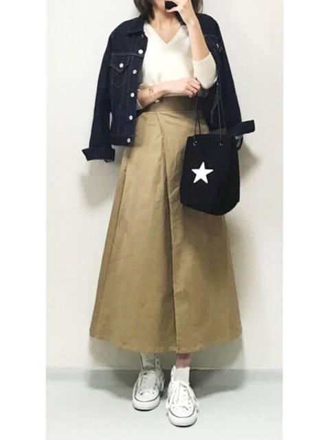 minminmaaa|IENAのデニムジャケットを使ったコーディネート - WEAR (80609)