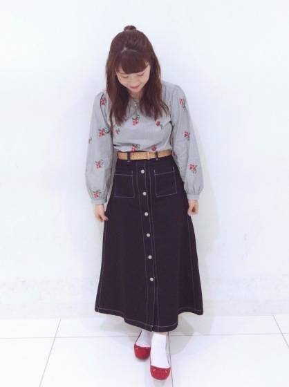 "【Spring with denim !!】この春も""デニム""でファッションを楽しもう\(^o^)/♡|GU SHOP BLOG (81162)"