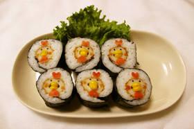 【節分】ちくわニワトリの恵方巻 by とまとママ☆ 【クックパッド】 簡単おいしいみんなのレシピが282万品 (81611)